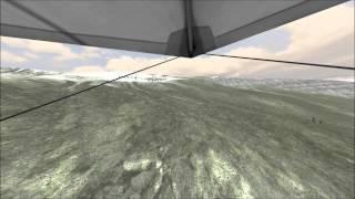 3D Hanglider ParaflySim Simulator-  Hanglider Update