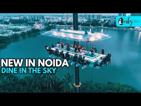 Noida Gets A FlyDining Restaurant For Your Mid-Air Meal   Curly Tales