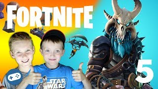 Fortnite Season 5 Gameplay with Owen and Liam Family Friendly Part 5