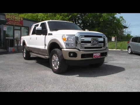 2011 Ford F250 Super Duty King Ranch Powerstroke Review - YouTube