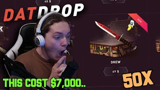 I joined a $7,000 Battle.. (DATDROP OPENING)