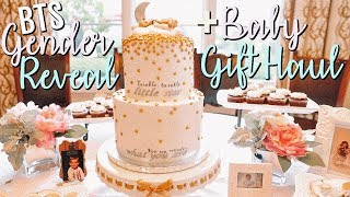 GENDER REVEAL PARTY + BABY GIFT HAUL!