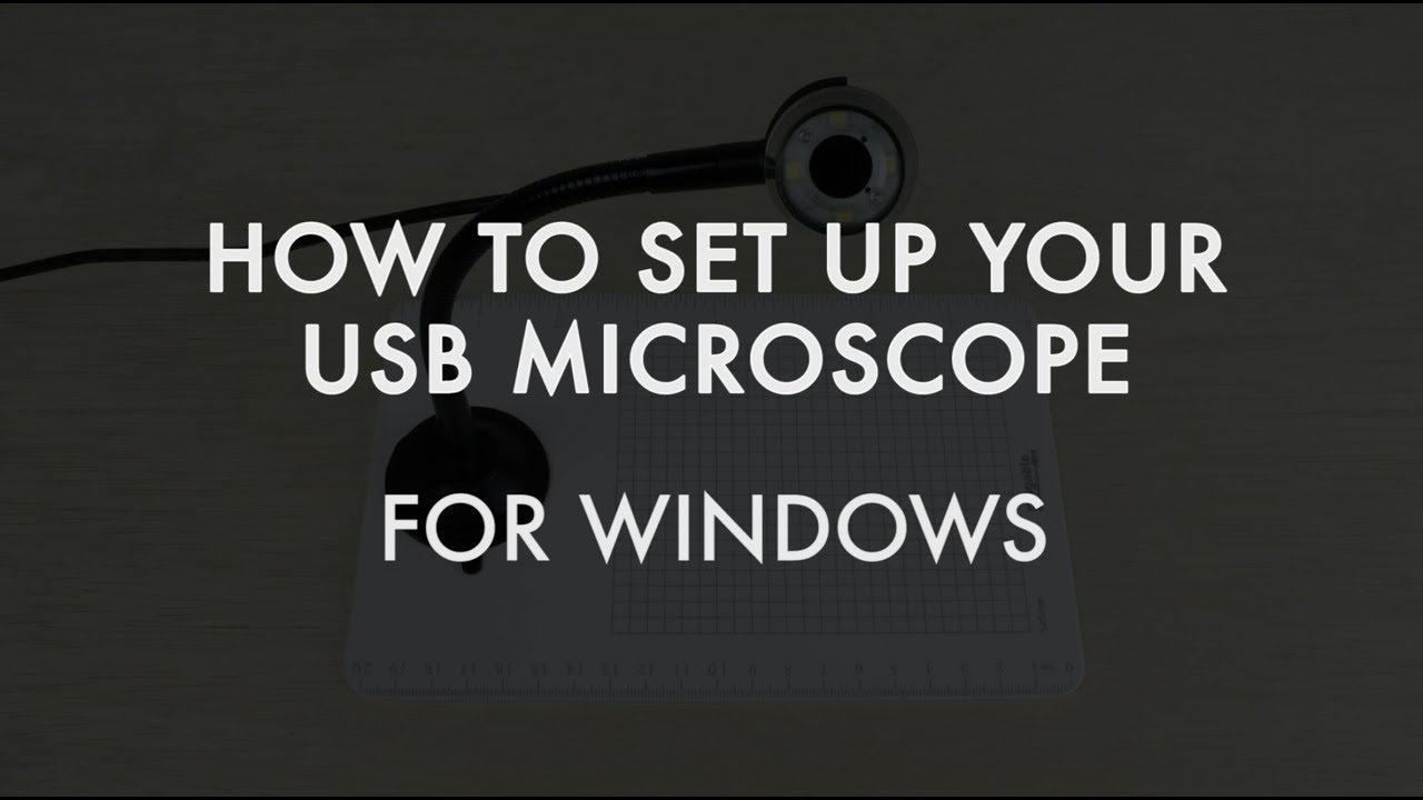 How to use plugable s usb digital microscope windows youtube