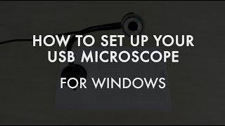 How to Use Plugable's USB Digital Microscope - Windows