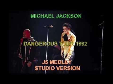 YouTube Michael Jackson Dangerous Tour 1992 Jackson 5 Studio Version