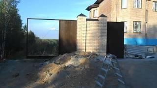 Автоматические откатные консольные ворота ЗАО
