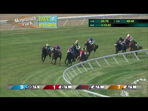 video thumbnail for MONMOUTH PARK 08-15-20 RACE 7