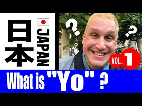 "What is ""YO"" in Japanese?  Sunshine answers your questions about Japan through RAKUGO!"