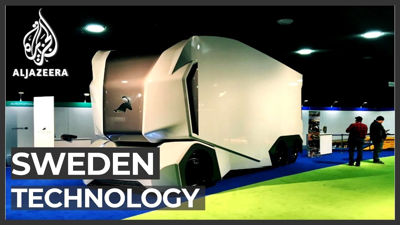 Swedish technology aims to allow truck drivers to work from home