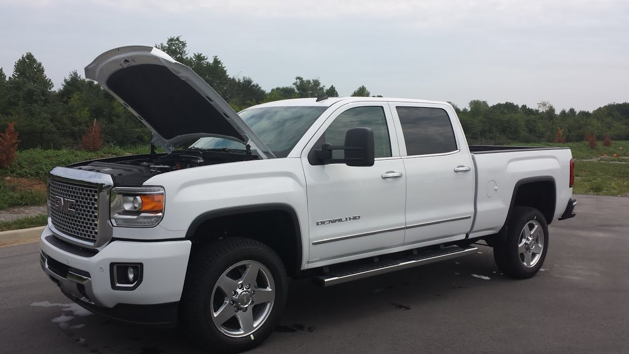 sold 2015 gmc 2500 hd denali crew cab 4x4 6 6 duramax plus summit 2015 GMC 2500HD Denali sold 2015 gmc 2500 hd denali crew cab 4x4 6 6 duramax plus summit white call griz 855 507 8520 youtube