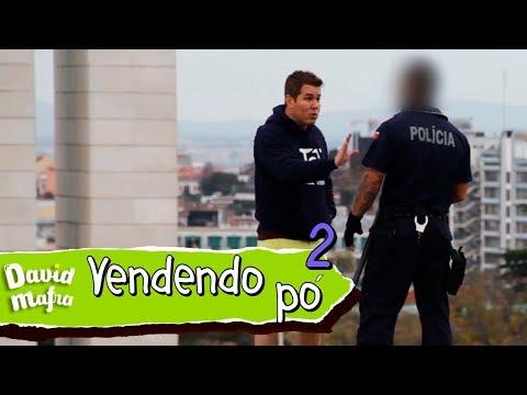 PEGADINHA: VENDENDO PÓ (COMPACTO) PARA POLICIAL EM PORTUGAL