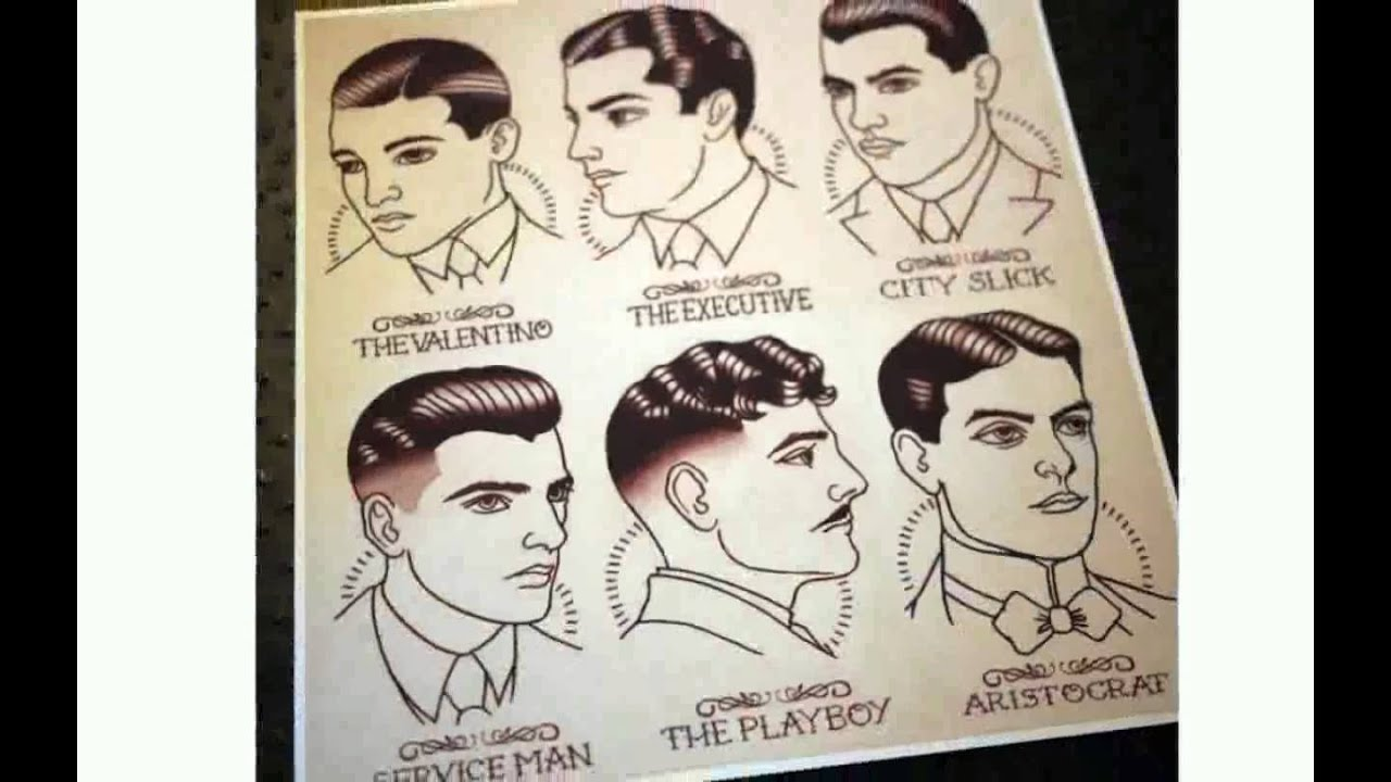 mens hairstyles 1920s