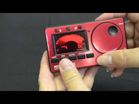 Kliq Metronome Tuner Review and demonstration