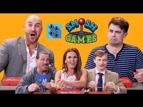 SMOSH GAMES X UUDD: WWE Superstars Vs. SMOSH Games In OPERATION BEANBOOZLED!!!