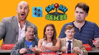 SMOSH GAMES x UUDD: WWE Superstars vs. SMOSH Games in OPERATION BEANBOOZLED!!!