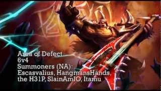 Repeat youtube video AoD - 6v4 (Songs of the Summoned 3 - League of Legends Champion Rocks!)