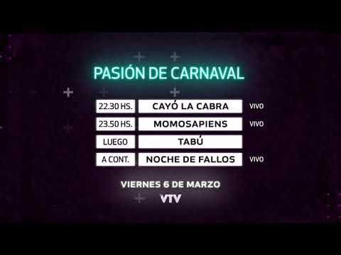 Agenda Carnaval – Viernes 6 de Marzo