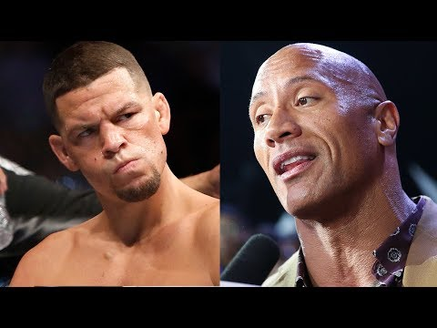 Dwayne 'The Rock' Johnson RESPONDS To Nate Diaz Threat To 'Whoop His A**!' After UFC 244