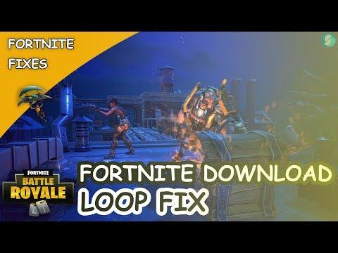 Fortnite Download Loop Fix | Fortnite Redownloading - YouTube