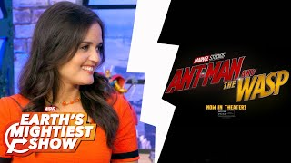 VFX Secrets of Shrinking Ant-Man and The Wasp and more | Earth's Mightiest Show