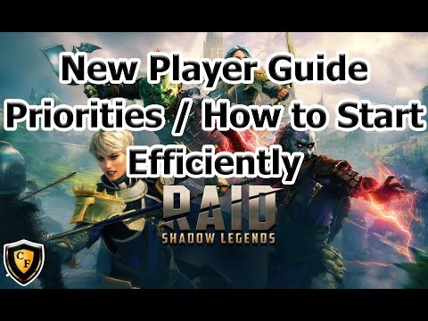 RAID: SL - New Player Priority / Efficiency Guide