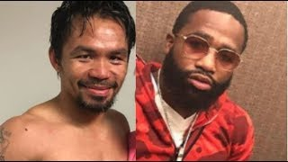 Adrien Broner Career Will Be Defined In This Pacquiao Fight!