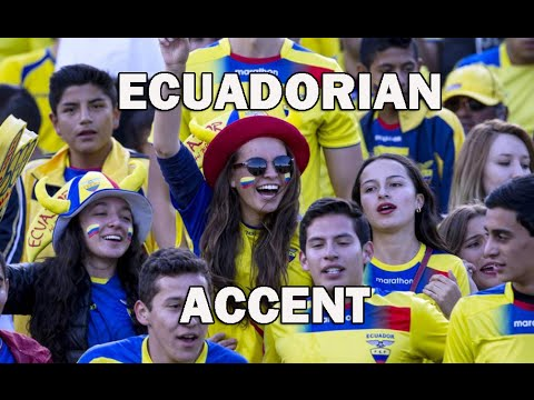 Ecuadorian accent (Spanish captions)