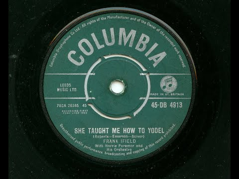 Frank Ifield 'She Taught Me How To Yodel' 45 rpm