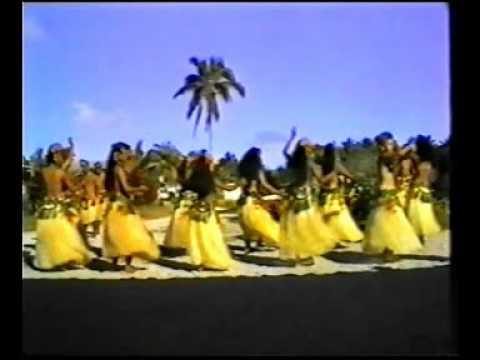 Cook Island Dance - Mitiaro 1995