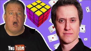 Rubik's Cube MAGIC TRICK Amazes Derral Eves