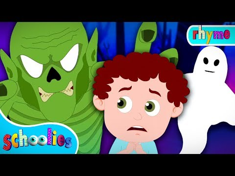 You Can't Run It's Halloween Night | Songs For Kids | Schoolies