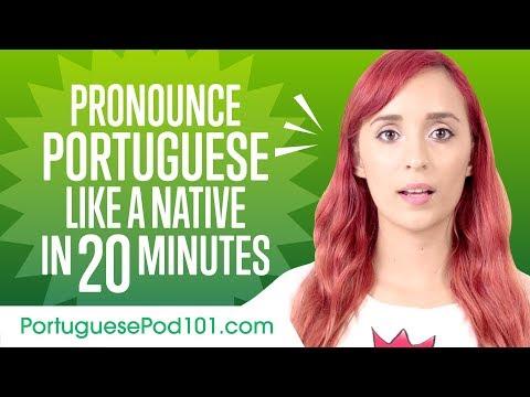How to Pronounce Portuguese Like a Native Speaker