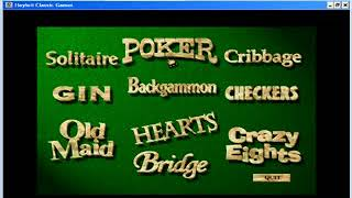 Hoyle Classic Games - Solitaire and Poker