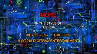Usher - More (Backing Track)