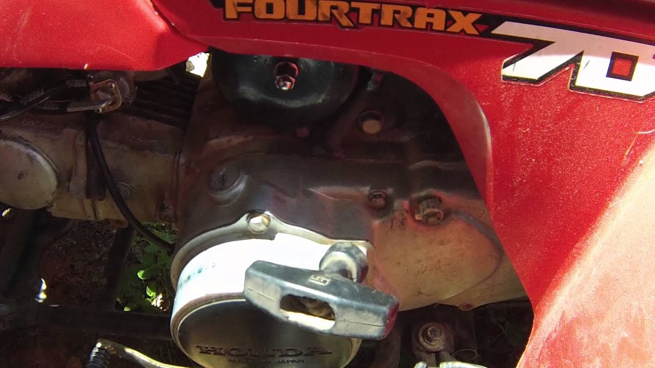 honda trx 70 no spark fix try this first youtube rh youtube com 1986 trx 70 wiring diagram 86 honda trx 70 wiring diagram