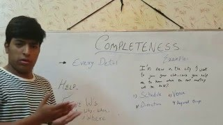 learn with nasir seven c s of communication part 1 by arsalan