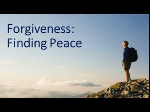 Forgiveness Finding Peace by Kevin Hinkley 09 27 2015 Arlington TX Single Adult Fireside