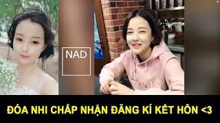 Đóa Nhi chấp nhận đăng ký kết hôn |Tán gái kiểu Đóa Nhi || NAD Channel ||