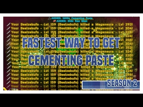 Fastest Way To Gather Cementing Paste ! Swamp Cave ARK Survival Evolved Season 2