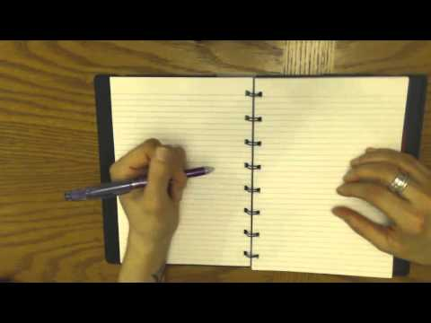 Filofax refillable notebook review!