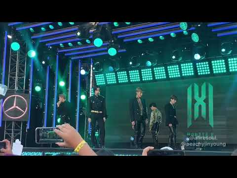 MONSTA X - WHO DO U LOVE? Ft. French Montana (Jimmy Kimmel Fancam)