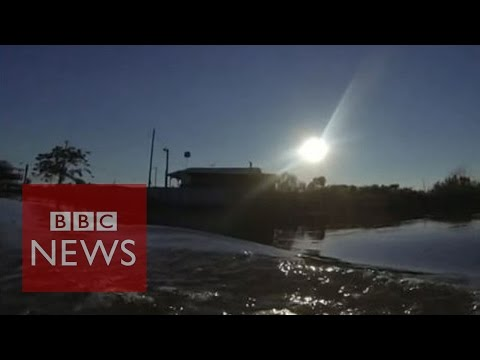 Life on an island slowly disappearing into the sea- BBC News