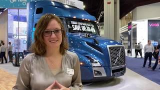 Volvo Trucks - VNL 760 with Allison Athey - #NACVShow2019