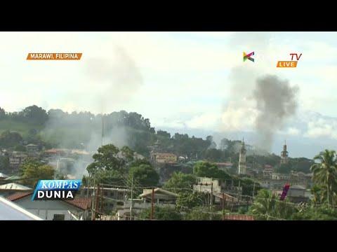 Militer Filipina Terus Basmi Pemberontak di Marawi