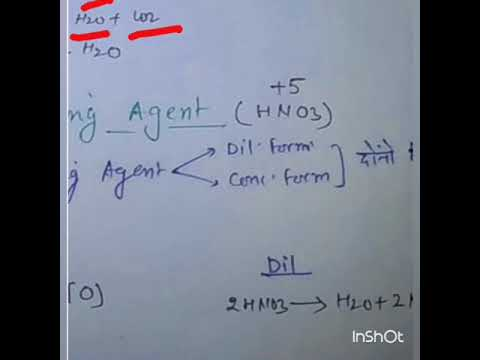 Part 1 Chemical Property Of HNO3