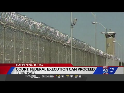 Federal Execution To Proceed In Terre Haute