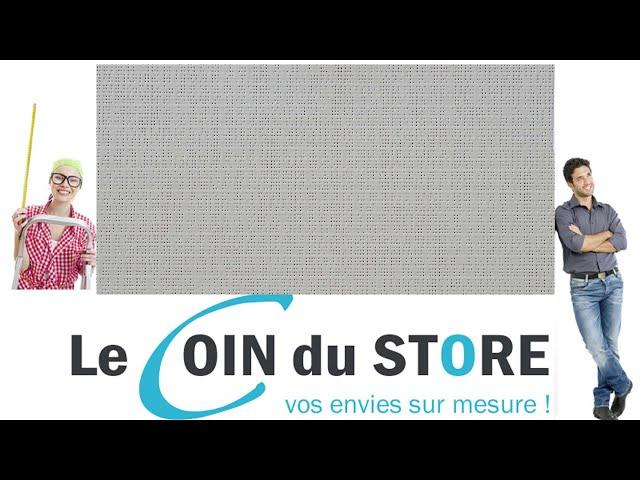Toile PVC pour pergola et store Soltis Perform 92 Nuage gris tres clair 50272 Serge Ferrari