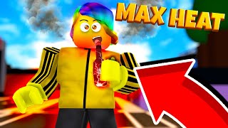 DRINKING 500,000,000,000 DEGREE HOT SAUCE *TOO HOT!!!* (Roblox Hot Sauce Simulator)