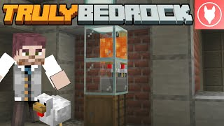 Truly Bedrock S1 : E22 - Food! The Automatic Chicken Farm