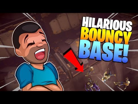 WELCOME TO BOUNCE TOWN! | Fortnite Save the World | Base Building